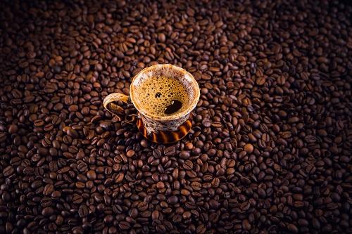 café en torréfaction